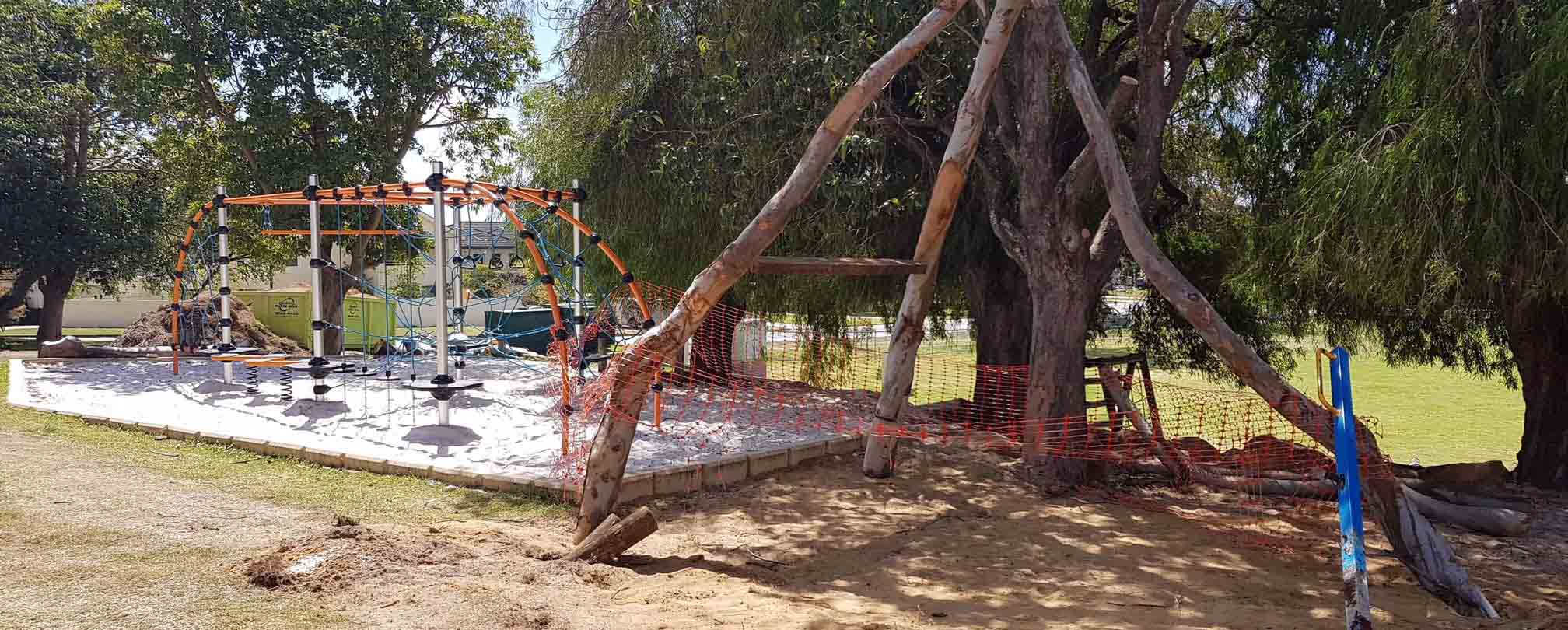 Attadale Primary School Nature Play project underway