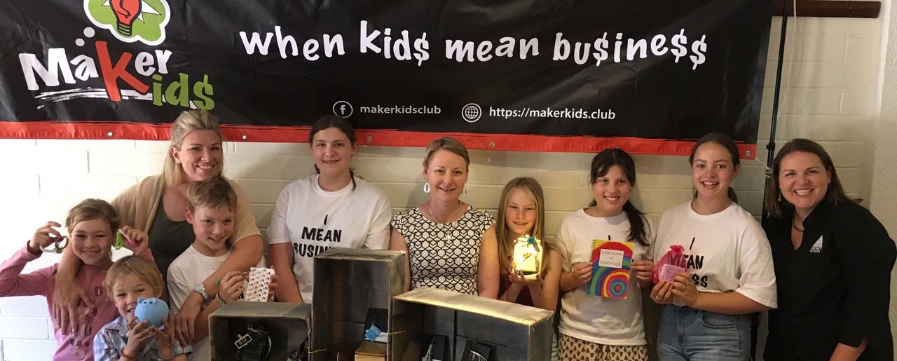 Kids mean business at Money School