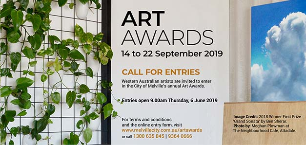 Art Awards Call for Entries 2019 - City of Melville